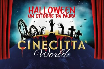 halloween cinecittà world roma
